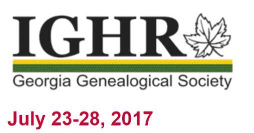 IGHR Georgia 2017