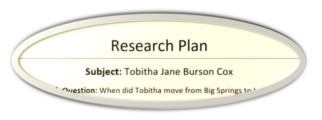 Research Plan
