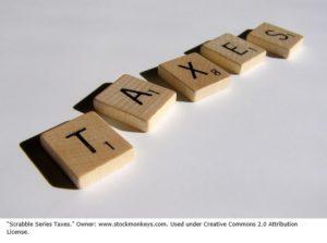 Taxes in Scrabble