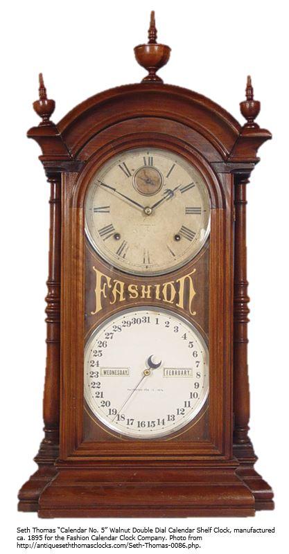 Photo context -- Seth Thomas Clock