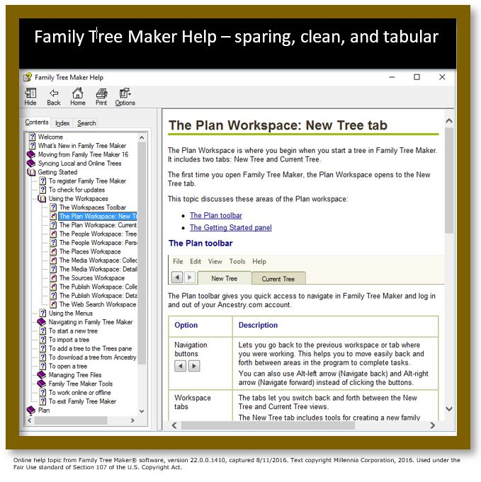 Family Tree Maker Help