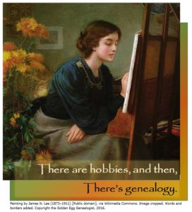 There are hobbies, then there's genealogy