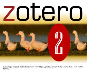 Zotero for Research Log