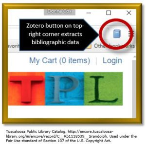 Zotero for genealogy_extraction button on Chrome