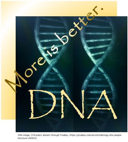 Genetic genealogy-- More is Better